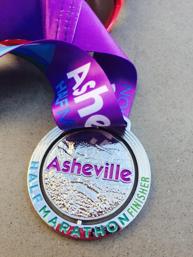 Asheville Half Marathon Race Review