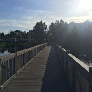 Jogging Trail at Saratoga Springs Resort and Spa