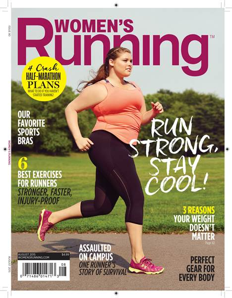 Women's Running Magazine Cover Highlights Real Women