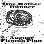 August One Mother Runner Fitness Calendar