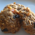 Healthy Halloween Pumpkin Cookies (That won't give you a fright)