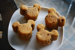 Pumpkin Mickey Mouse Scones