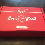 March Love with food box review