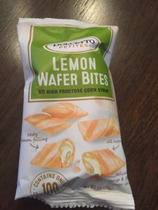 Lemon Wafer Bites